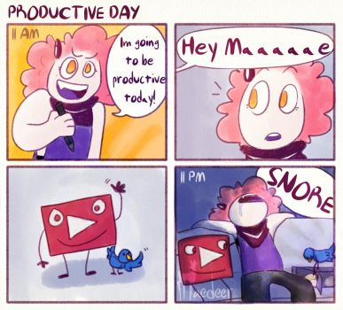 Productive Day by Maedeer