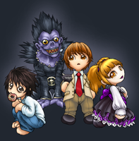Death Note Group by ghostfire