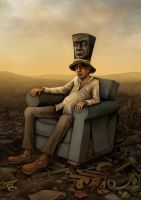 The Hatter's Recline by DaveWhitlam