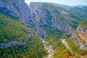 Verdon Canyon by Willihelm