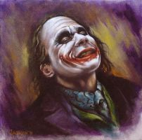 The Joker by KevinJacksonArtist