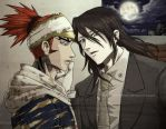Byakuya and Renji : Like in Yaoi Doujinshi by ForeverMedhok