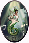Disney Elementals Tiana by CeruleanRaven