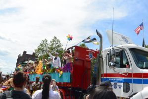 2015 Boston Pride Parade, Group Pride Ride by Miss-Tbones