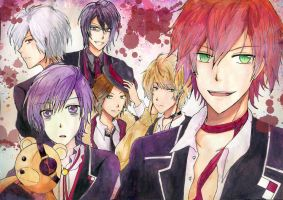 DiABOLik LOVERS by BlackTwin-Shiro