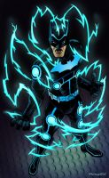 Electrosuit Batman by 66lightning