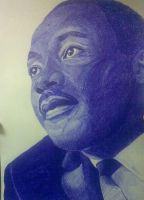 Martin Luther King by xjorieke