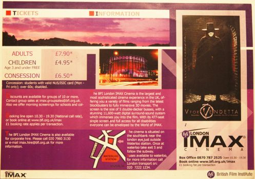 Imax Booklet 'frount' by Piozo