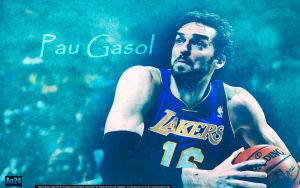 Pau Gasol by pllay1