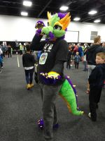 Oz Comic-Con Adelaide 2015: Romulus by lizardman22