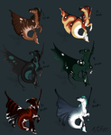Metacampus Adoptables 2 - ALL SOLD by Night-Anders