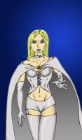 Emma Frost: The White Queen by MattyMo
