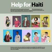 Help for Haiti by laurbits