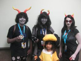 Anime Expo: Homestuck Group by punkanimelover