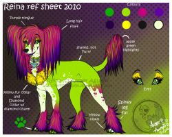 Reina ref sheet 2010 by PinkScooby54