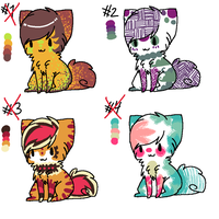 OPENN 1 LEFT cute cats by Intelius