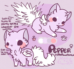 :Pepper Ref Sheet: by PrePAWSterous