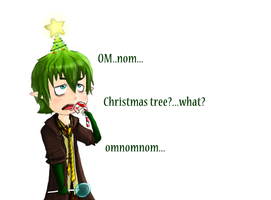 Amaimon's Chrismas Cheer by ssbbgamergirl