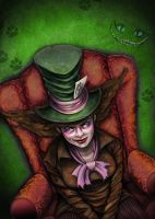 Gina the Mad Hatter by GSalvador