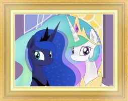 Princesses Portrait by McSadat