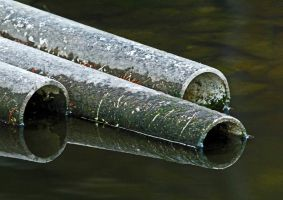 Pipes In the Water by Merhlin