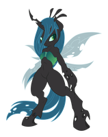 Anthro Chrysalis by tyler611