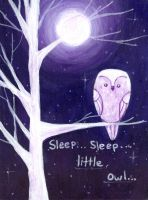 Sleep Little Owl by fearn