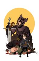 Batman and Robin Game of Thrones Style by Draw-Ben-Draw