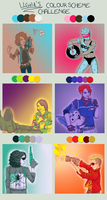 Color Challenge - Killjoys Ed. by LieutenantDeath