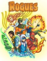 DC: Rogues by Card-Queen