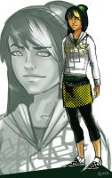 Modern Toph by asherluck