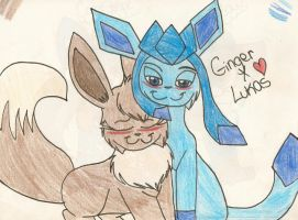 AT: Ginger and Lukas by dragonpop1