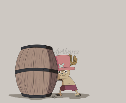 Tony Tony Chopper by LadyAlvarez