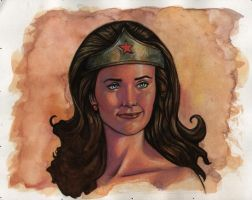 Lynda Carter Wonder Woman 2 by ssava