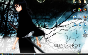Rukia wallpaper screenshot by AkidaSoren