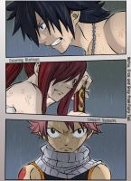 Gray Erza and Natsu by Bletisan
