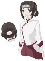 tenten hair makeover by cactuar