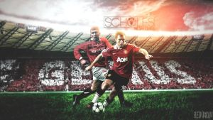 Paul Scholes - The Shy Genius by reddevilcarlo