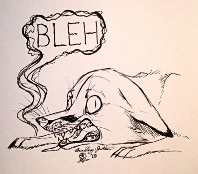 Bleh by VoidNogitsune