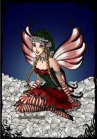Christmas Fairy 2 by LadyIlona1984