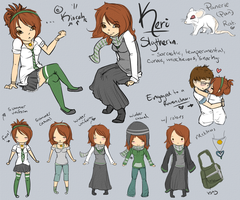 Reference: Slytherin Keri. by Kiocah