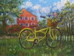 Yellow bicycle by Redilion