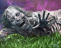 The Park Zombie by Shawn-Conn