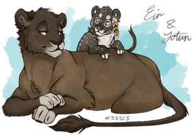 Eir and Jotun by fuye