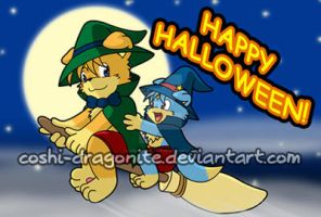 Happy Halloween 2009 by Coshi-Dragonite