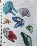 Large Theropods by speculated