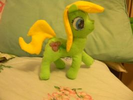 Sweet pea plush by vexhis