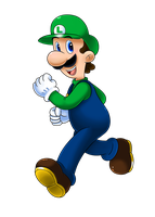Luigi Time! by Nintendrawer