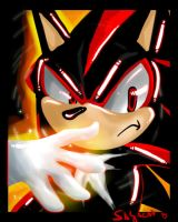 Angry SHADOW THE HEDGEHOG by Sayacat