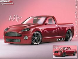 2001 ford lightning modded by abbe-rocks